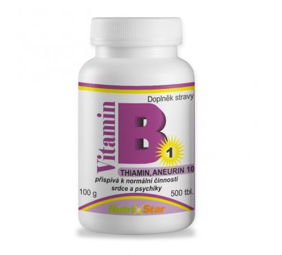 Thiamin (vit. B1) 500 tbl.