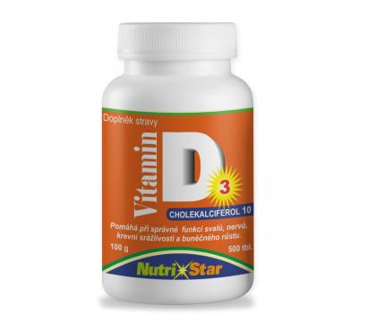 Vitamín D 500 tbl.