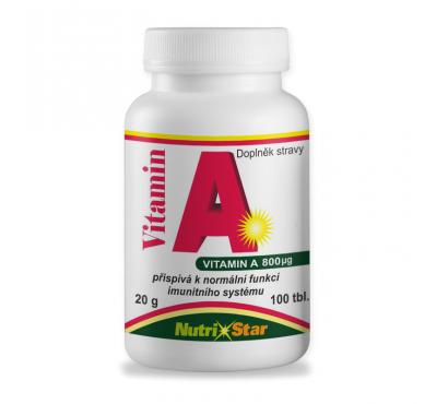 Vitamin A 100 tbl.