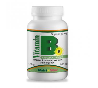 Kyselina listová - Folacin (vit. B9) 500 tbl.